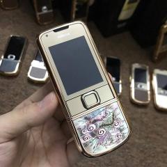 Nokia 8800 1G Vàng Hồng Long Phụng Kiệt Tác Nghệ Thuật – Bảo Hành 2 Năm