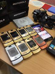 Điện Thoại Motorola Razr V3i Gold