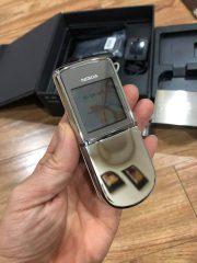 Nokia 8800 Siroco White Mầu Bạc Chính Hãng – Bảo Hành 2 Năm