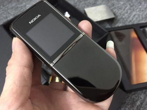 Nokia 8800 Siroco Black Chính Hãng – Bảo Hành 2 Năm