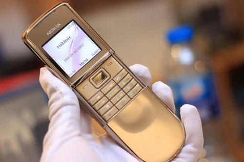 Nokia 8800 Siroco Gold Chính Hãng Mới – Bảo Hành 2 Năm