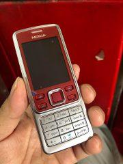 Nokia 6300 Mầu Bạc Đỏ Chính Hãng